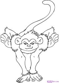drawn toon line drawing 6