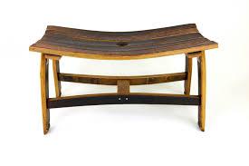 furniture made from wine barrels. Wine Barrel Bench Furniture Made From Barrels H