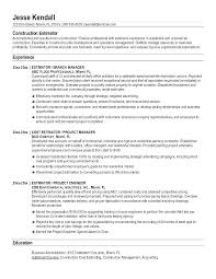 Objective For Construction Resume Best of Construction Resume Samples Construction Construction Supervisor
