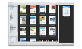 Microsoft Word Templates For Mac Word Resume Template Mac Gfyork