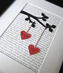 gift ideas for first wedding anniversary elegant 57 best diy paper anniversary gifts for him