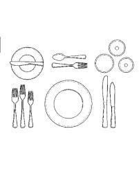 glasses table setting. How To Set A Formal Dinner Table Martha Stewart Setting Napkin The For Fish Ml Glasses E