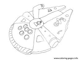 Star Wars Ships Coloring Pages Simple Falcon Star Wars Ship Coloring
