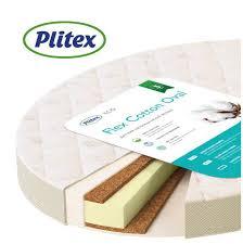 Овальный <b>матрас Plitex Flex</b> Cotton Oval