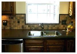 backsplash around window kitchen around kitchen window pictures in subway tile backsplash around kitchen window