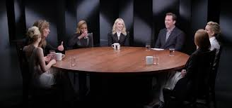 full actresses roundtable saoirse ronan jennifer lawrence mary j blige close up with thr