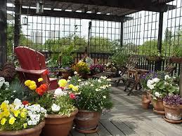 Charming Rooftop Garden Designs