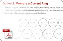 James Avery Ring Size Chart Best Printable Ring Size Strip Suzannes Blog