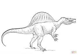 Spinosaurus Kleurplaat Gratis Kleurplaten Printen