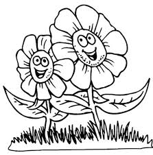 Small Picture Flowers Coloring Pages For Children Flower Coloring pages of