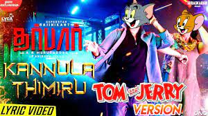 Darbar Kannula Thimiru Tom & Jerry Version | Darbar Tamil