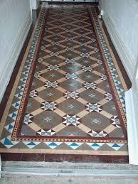 red victorian floor