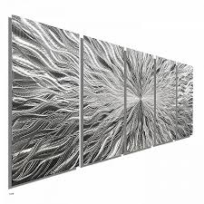 vortex 5 xl extra 5 panel modern abstract metal wall art by