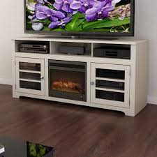 dcor design west lake 60 tv stand with electric fireplace reviews wayfair