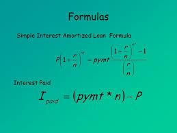 Interest On Loan Formula Magdalene Project Org