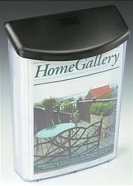 outdoor brochure holder