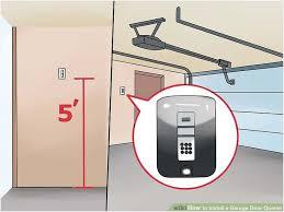 swing up garage doors modern looks how to install a garage door opener with wikihow
