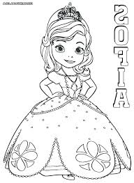 Princess Sofia Coloring Special Offer Coloring Pages Princess