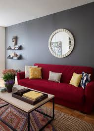 how to match paint colorsHow to Match A Rooms Colors with Bold Fabric  Living room red