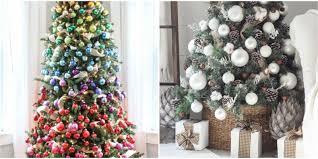 Christmas Tree Decorations Ideas 2018