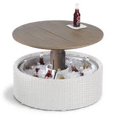 beer cooler coffee tables
