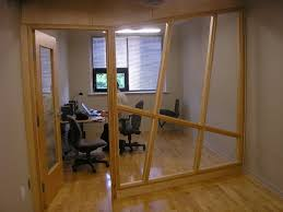 office partition ideas. Glass Partitions In Office With Wooden Flooring Partition Ideas
