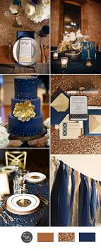 The Ultimate Inspiration To Have a Breathtaking Snowy Winter Wedding. Navy  Color WeddingNavy Blue ...