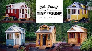 Small Picture Mount Hood Tiny House Village has 5 Tiny Houses for Available for