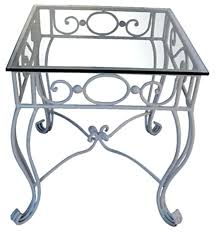 slate top end table end iron coffee tables with glass top coffee table home with wrought iron slate top dining table set