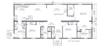 one story house plans with two master suites house plan 2017