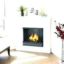 gas fireplace ventfree corner gas fireplace vent free non vented how to build a vent free