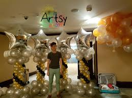 Columns For Decorations Balloon Decoration Ideas Artsyballoons Singapore Balloon