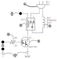 combolockpick howard community college fall2012 p1 502 cmsb a schematic diagram of a transistor switching amplifier is shown