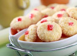 Nastar kastengel putri salju kue sagu kue semprit. Kue Kelapa Cherry Sahabat Nestle