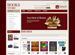Free Bookstore Website Template Bookstore Website Template Free Download Spacerchaser Com
