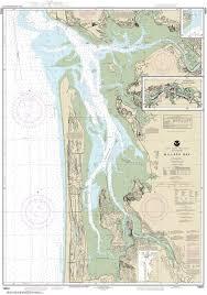 Estero Bay Depth Chart 18504 Willapa Bay Willapa River Nautical Chart