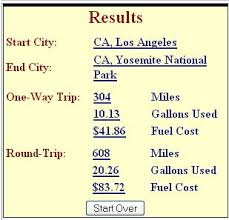 Aaa Fuel Cost Calculator Wanderus Travel Tips For The
