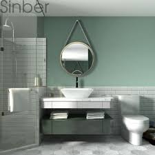 square ceramic bathroom vanity vessel