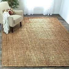 jute rug what is casual natural hand woven chunky thick reviews pottery barn wool