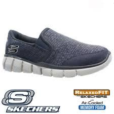 skechers shoes for boys. boys skechers relaxed fit air cool memory foam slip on walking trainers shoes skechers shoes for boys