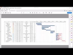 Convert Gantt Chart To Pdf How To Export A Gantt Chart To Pdf With Edraw Project