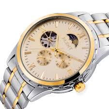 aliexpress com buy 2016 men automatic watch full steel band aliexpress com buy 2016 men automatic watch full steel band moon phase second hand business mechanical watches from reliable watch band sizing tool
