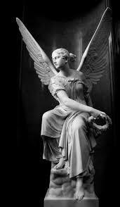 Coisas De Terê Art 17 天使の像彫像天使 絵画
