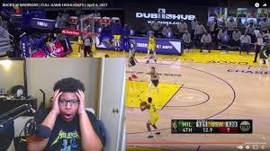 Reaction BUCKS vs WARRIORS | FULL GAME HIGHLIGHTS - YouTube