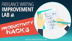 lance writing improvement lab productivity hacks to write lance writing improvement lab 7 productivity hacks to write faster