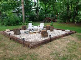 Best 25+ Railroad ties landscaping ideas on Pinterest | Fire pit ...