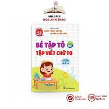 Sách - Bé tập tô, viết chữ to dành cho trẻ em từ 4-6 tuổi chính hãng 43,000đ