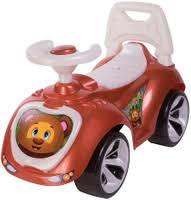 <b>Gratwest Baby walker с</b> прозрачным капотом с мишкой 7609 ...
