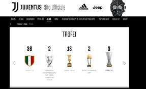 FOTO - La Juve ignora ancora Calciopoli ed aggiorna a 36 gli Scudetti  vinti...