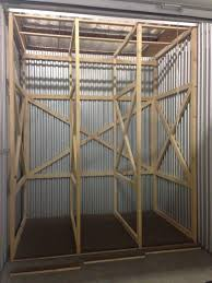 mckymonroe design inglewood ca united states large painting storage rack with matching